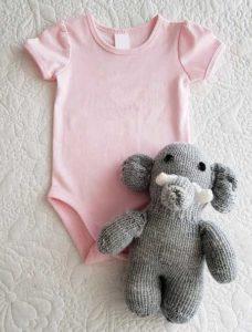 Kurzärmlige Babybody für Mädchen