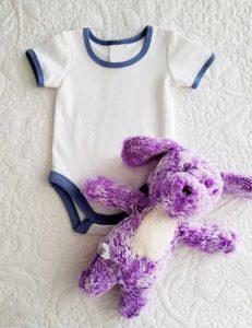 Kurzärmlige Babybody für Jungen